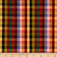 "Yarn Dyed Shirting 1/2 "" Check Multi"