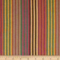 "Yarn Dyed Shirting 1/2 "" Stripe Gold"