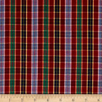 Yarn Dyed Shirting Small Plaid Multi