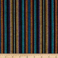 Yarn Dyed Shirting Narrow Stripe Black Multi