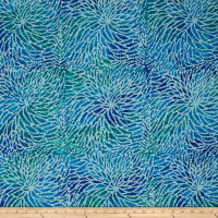 Sarasota Spray Batiks Blue/Green