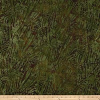 Aztec Abstract Batik Olive