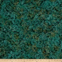 Swirl Mini Leaf Batik Blue/Green