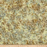 Swirl Mini Leaf Batik Natural