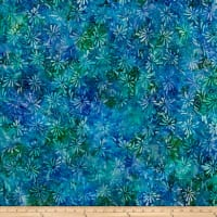 Swirl Splash Batik Lt Blue/Purple/Green