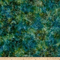 Swirl Splash Batik Green/Blue