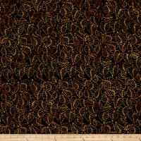 Leaf Batik Black/Brown