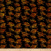 Turtle Batik Black/Brown