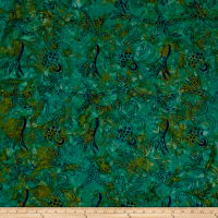 Squid Starfish Batik Blue/Green