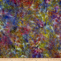 Abstract Batik Bright Multi