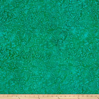 Abstract Batik Jade/Blue