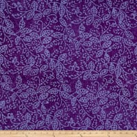 Vine Batik Purple