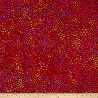 Dots Mozaic Batik Red/Purple