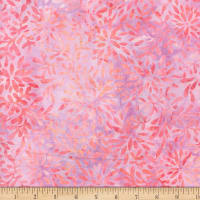Wilmington Batiks Packed Petals Pink