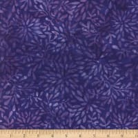 Wilmington Batiks Packed Petals Purple