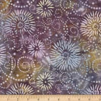 Wilmington Batiks Flower Burst Purple/Gray