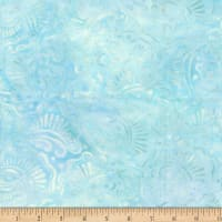 Wilmington Batiks Wavy Fans Light Blue