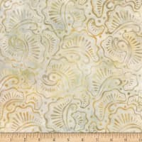 Wilmington Batiks Wavy Fans Tan