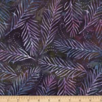 Wilmington Batiks Delicate Fronds Blue/Purple