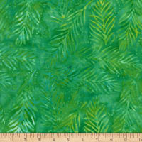 Wilmington Batiks Delicate Fronds Green