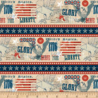 Wilmington Land of Liberty Repeating Stripe Multi