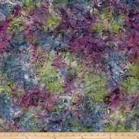 Wilmington Batiks Butterflies Green/Purple