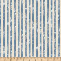 Wilmington Land of Liberty Stripes Blue/Tan