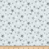 Wilmington Friendly Gathering Stars Light Gray