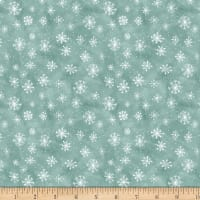 Wilmington Friendly Gathering Snowflake Teal