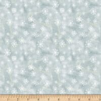 Wilmington Friendly Gathering Snowflake Light Gray