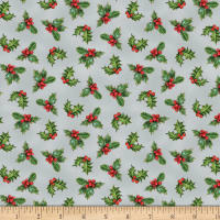 Wilmington Royal Red Holly Gray