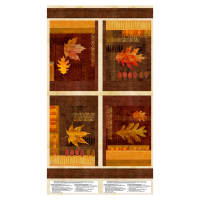 "Wilmington Amber Reflections Placemat 24""Panel Multi"