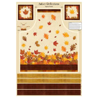 "Wilmington Amber Reflections Apron 30""Panel Multi"
