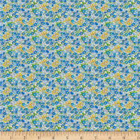 Wilmington Amorette Tiny Garden Blue