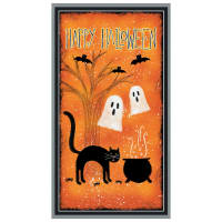 "Wilmington Spooky Vibes Large 24""Panel Multi"