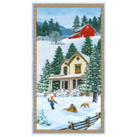"Wilmington Bringing Home Christmas Large 24""Panel Multi"