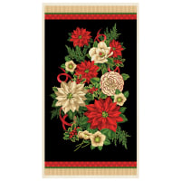 "Wilmington Holiday Lane Large 24"" Panel Multi"