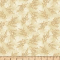 Wilmington Holiday Lane Ferns Tan