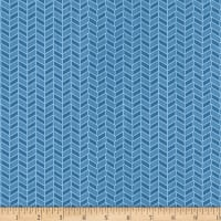 Wilmington Welcome Winter! Cable Knit Blue