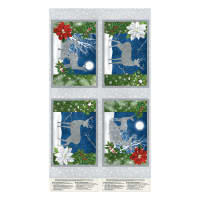"""Wilmington Under The Pines Placemat 24""""Panel Multi"""