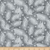 Wilmington Under The Pines Pine Sprigs Medium Gray