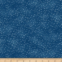 Wilmington Under The Pines Snow Dots Blue
