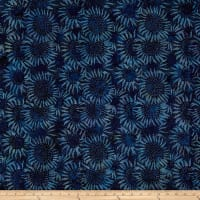 "Hoffman Bali Batik 104"" Wide Back Sunflower Lapis"