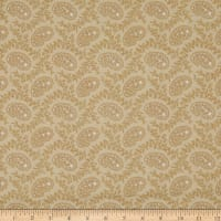 Cream & Sugar VII Small Paisley Beige