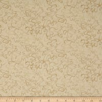 Cream & Sugar VII Abstract Swirl Beige