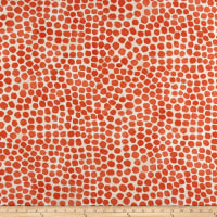Genevieve Gorder Outdoor Puff Dotty Coral