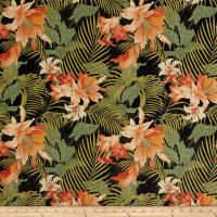 Tommy Bahama Indoor/Outdoor Ocean Floral Caviar