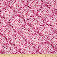 Hoffman Digital Shine On Facets Allover Fuchsia