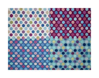 "Hoffman Digital All A Twitter Fat Quarter Dots 72""Panel Sweetpea"