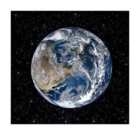 "Hoffman Digital Out Of This World 43"" Earth Panel Earth"